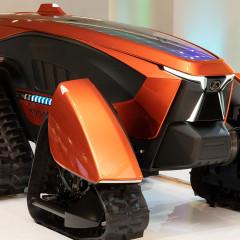 Kubota представила концепт беспилотного трактора