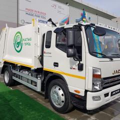 В Костанае запустили производство мусоровозов