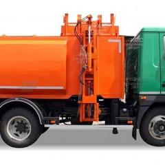 Завод Авто-Холдинг запустил в производство мусоровоз KrASZ-M4CAM1