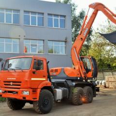 Началось производство экскаваторов UMG на шасси КАМАЗ Евро-5