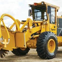 Tigercat разработал экономящий время дорожный траншеекопатель T726G
