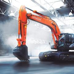 Новый экскаватор ZX300-5A начали выпускать на российском заводе Hitachi