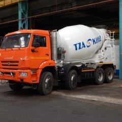 Автобетоносмеситель 5814Y9 выпустили на Туймазинском заводе автобетоновозов