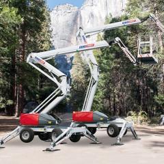 Dinolift выпустил новый легкий коленчатый самоходный подъемник 220RXT