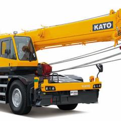 Новый колесный кран SR-300R выпустила компания КАТО