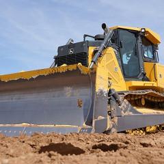 John Deere начала выпуск нового бульдозера 850L