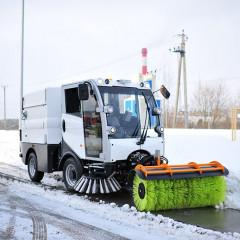 В Оренбурге презентовали новую подметально-уборочную машину ВКМ-2020
