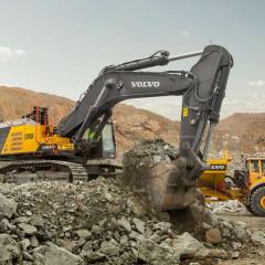 Новый 90-тонный экскаватор Volvo EC950F стал доступен глобально