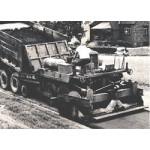 Асфальтоукладчик колесный Blaw-Knox PF-90