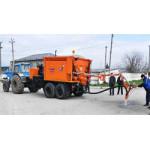 Машина для ямочного ремонта дорог Ирмаш Р-310М