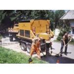 Машина для ямочного ремонта дорог Коминвест-АКМТ Термос-бункер АТС-50
