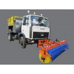 Машина для ямочного ремонта дорог Madrog MadPatcher MPAS 6.5WD
